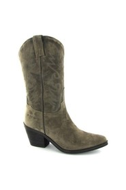 Taupe Western boot