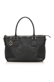 Charmy Leather Satchel Calf