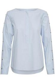 Grace blouse blue - Denim Hunter