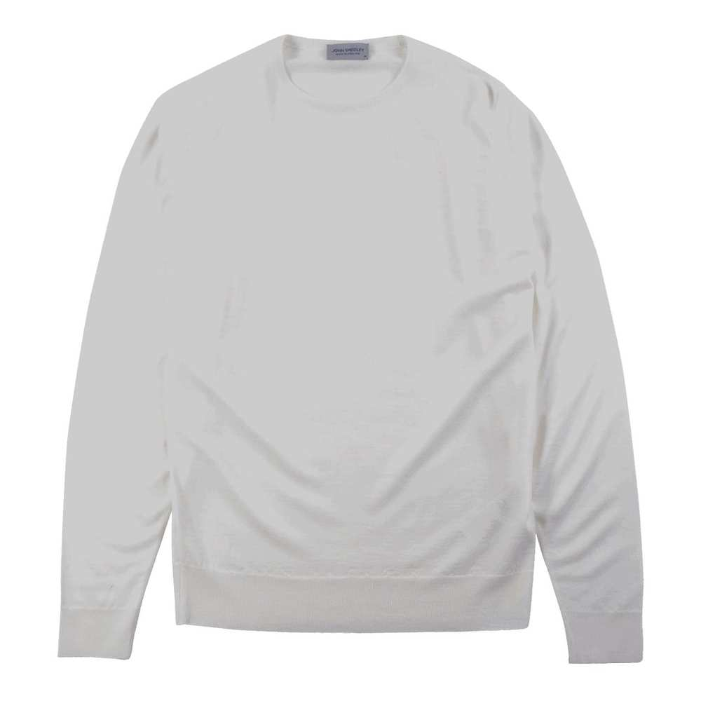 Lundy Pullover CN LS White