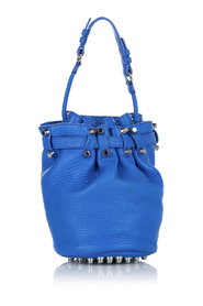 pre-owned Diego Bucket Bag Leather Calf