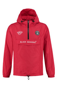 BLACK BANANAS ANORAK WINDBREAKER RED