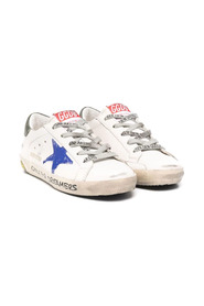 Signature star-patch lace-up sneakers