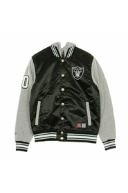 GIUBBOTTO COLLEGE NFL BESSON HOODED MIX FABRIC JACKET OAKRAI