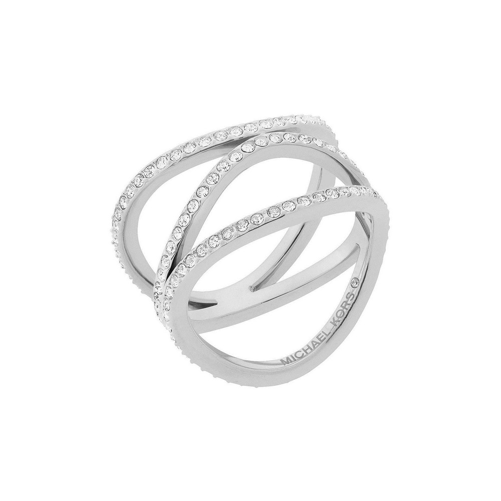 MICHAEL KORS BRILLIANCE SILVER RING