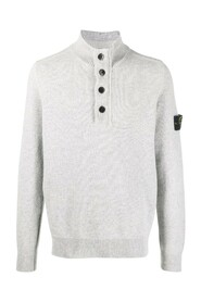 Logo Patch Polo Jumper
