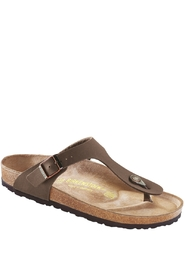 Birkenstock Gizeh Normal Birko-Flor Mocca Brown