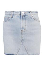 Denim mini spódnicy
