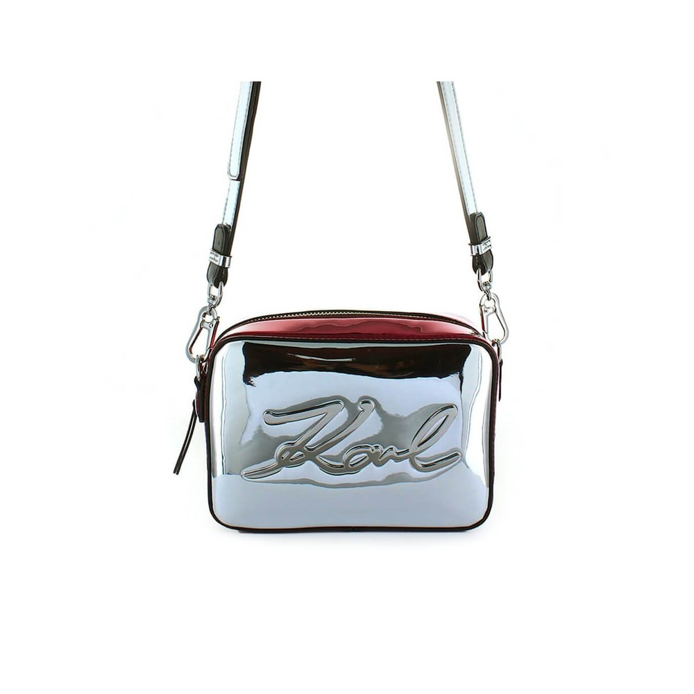 K/SIGNATURE GLOSS CAMERA BAG