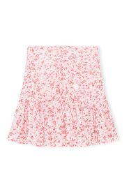 Printed Georgette Mini Skirt