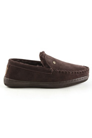 donkerbruin Warmbat Grizzly 4410-65 pantoffels