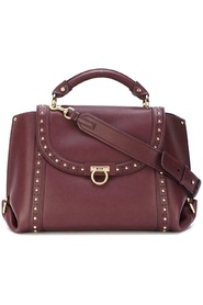 Medium Studded Leather Sofia Satchel