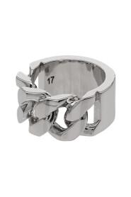 pierścień z logo