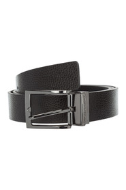 Length reversible belt