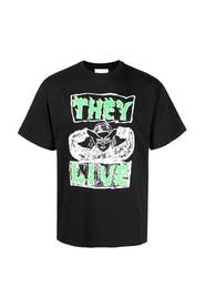 THEY LIVE BLACK T-SHIRT