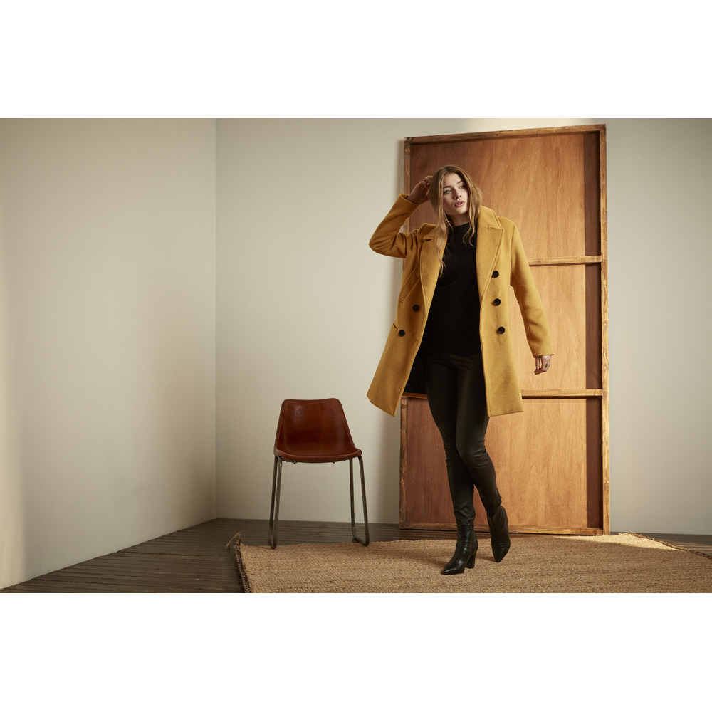 Culture Yellow Aleia Coat Culture