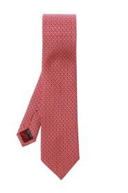 Krawat z nadrukowanym wzorem