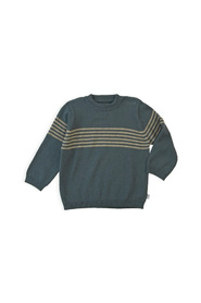 Knit Pullover Greyblue