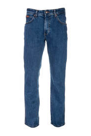 Blå Wrangler Arizona Stretch Jeans