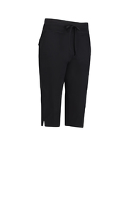 Studio Anneloes - Upstairs capri trouser travel - Zwart