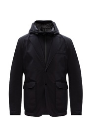 Goodsir quilted down jacket with hood