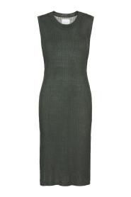Grønn Samsøe Samsøe Dara kjole