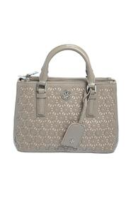 Perforated Leather Robinson Tote