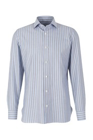 Poplin striped shirt
