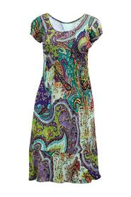 Print Short Sleeve Dress -Pre Owned Condition Very Good