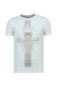 King Fly Glitter - Vette T shirt Heren