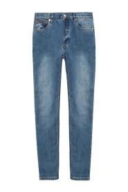 Avsmalnande ben jeans