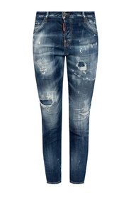 'Cool Girl Jean' distressed jeans