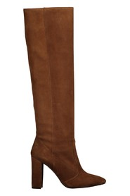 Suede tube boot