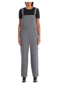 Long dungarees With pockets Contrasting buttons
