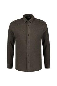 Triangle jaquard shirt