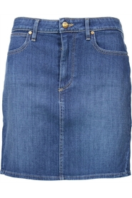 Denim Skirt Mid Length