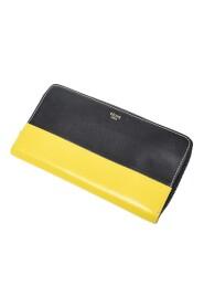 Brugt Bicolor Zip Around Wallet