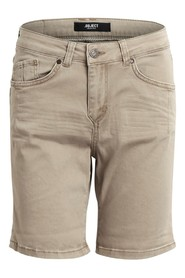Beige Object Shorts-Ally