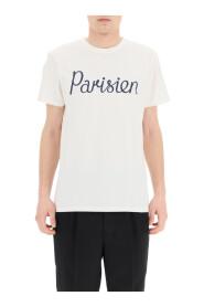 parisien print t-shirt
