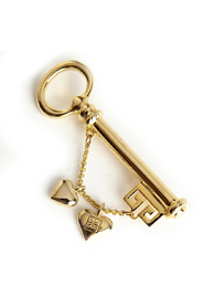 key charm brooch