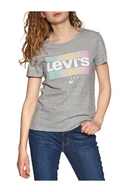 LEVIS 17369 0915 THE PERFECT TEE T SHIRT AND TANK Women GREY