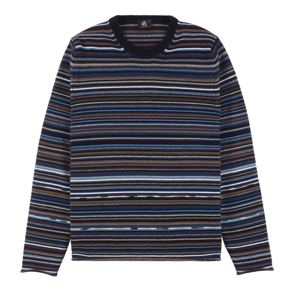 MENS PULLOVER CREW HECK