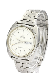 Pre-owned Seamaster Automatic Stainless Steel Men's Dress Watch 166.064