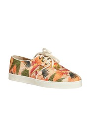 Libreville wax canvas sneakers