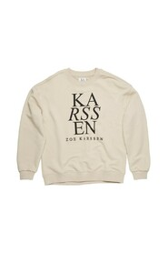 Rose ZK Logo Relaxed Fit Sweater