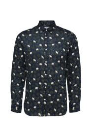 Button-Down Formal Linen Shirt