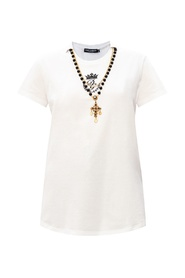 T-shirt with necklace