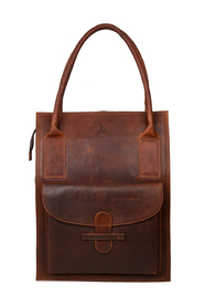 Tina Dark Brown Catania Shopper