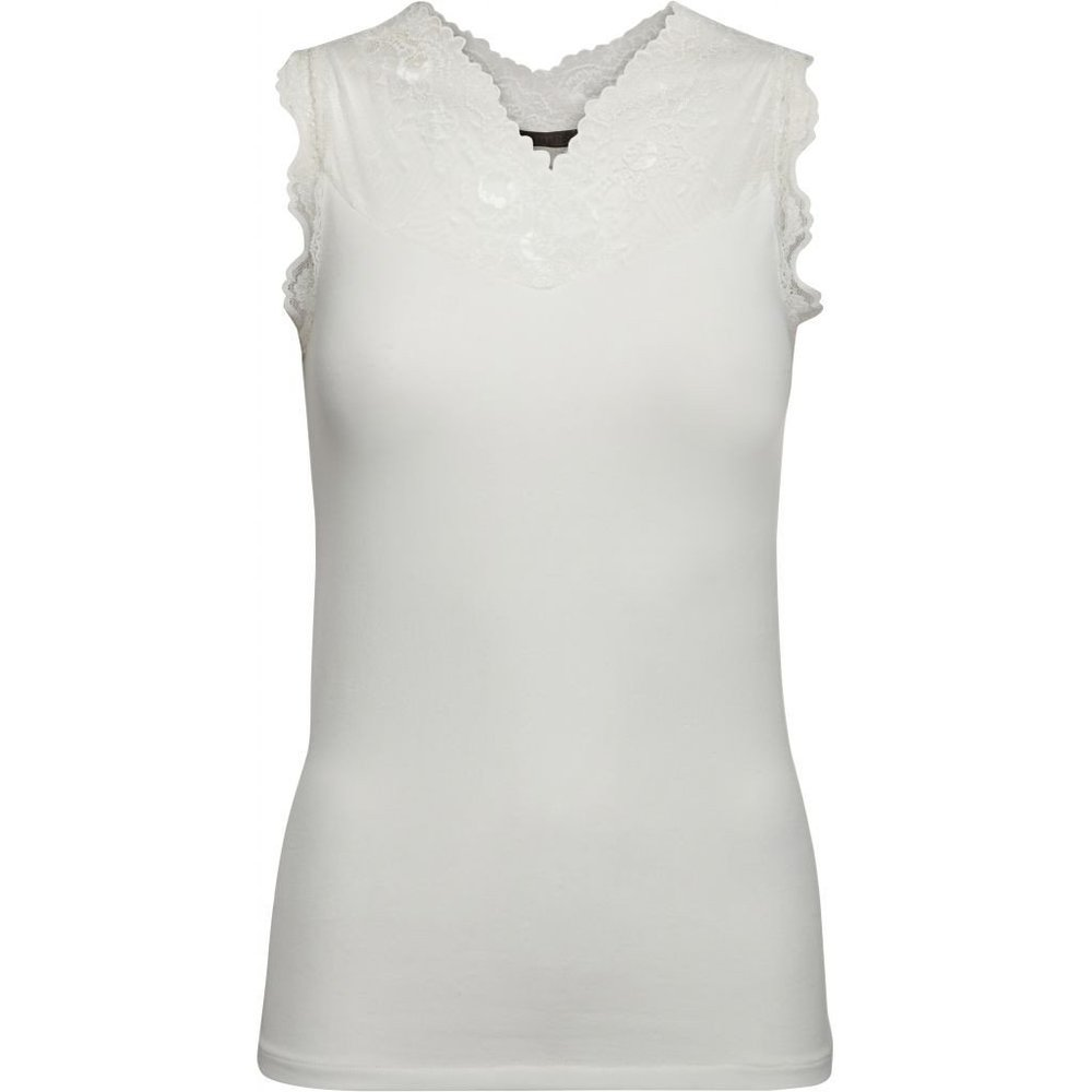 Vanessa top - broken white Minus Toppe til Damer i Hvid