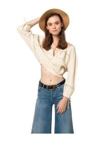 Bardot style blouse